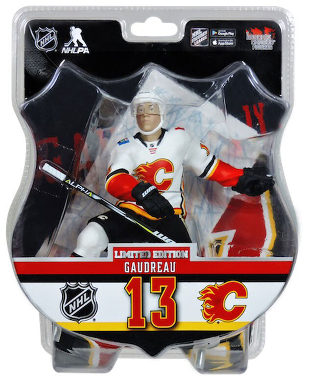 Johnny Gaudreau<br>Flames de Calgary Figurine de 6 pouces de la LNH.