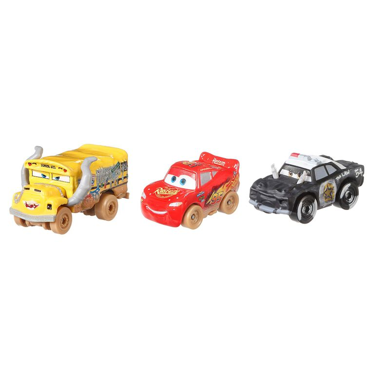 Disney/Pixar Cars Mini Racers Derby Racers Series 3-Pack