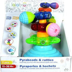 Lalaboom - Pyramide 3 hochets