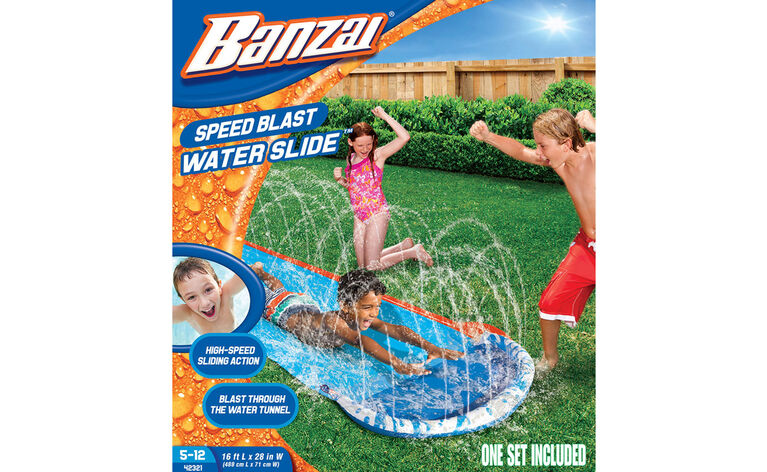 Speed Blaster Water Slide