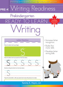 Pre-K - Ready To Learn Writing - English Edition