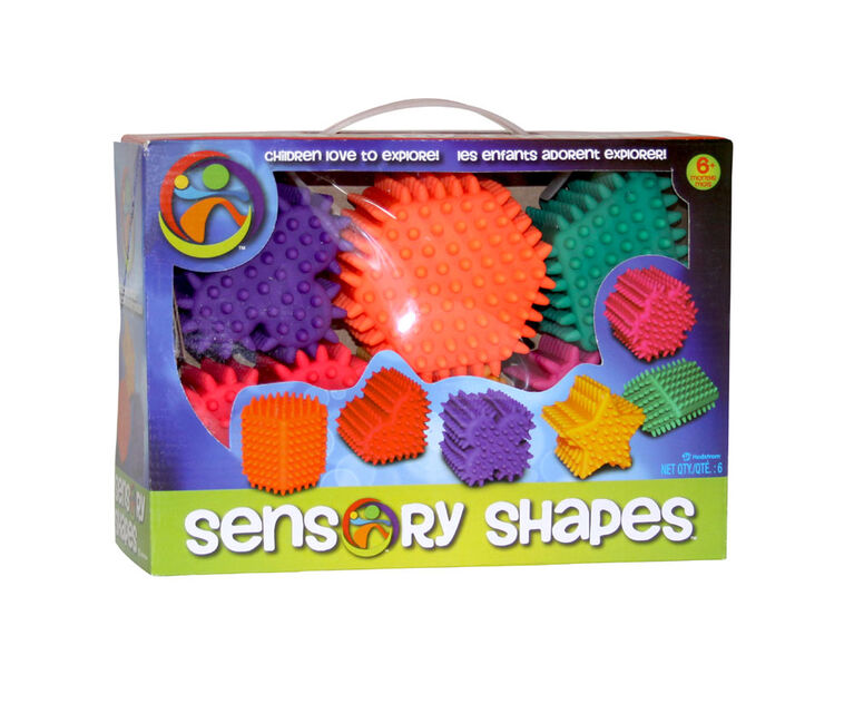 6 Pack Sensory Shapes