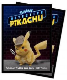 Pokémon: Detective Pikachu - Pikachu Deck Protector sleeves