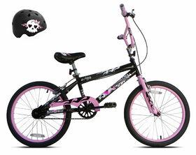 Avigo Rock N Roll Gurl Bike with Helmet - 20 inch