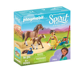 Playmobil Spirit Apo avec cheval et poulain