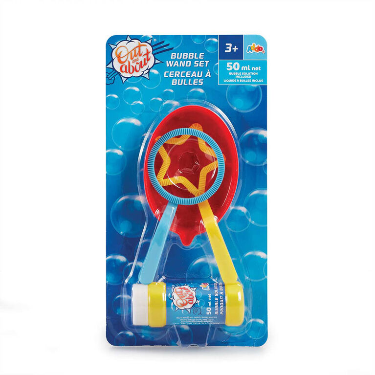 Out and About Bubble Wand Pack - R Exclusive
