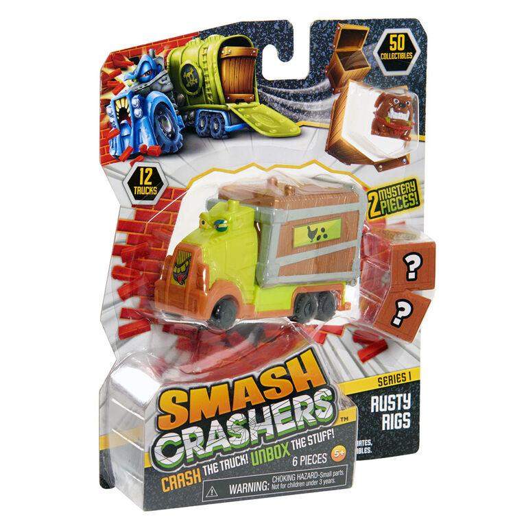 Smash Crashers Rusty Rigs