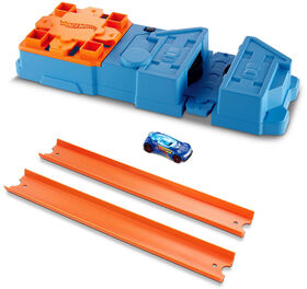 Hot Wheels - Track Builder - Coffret de jeu Propulseur.