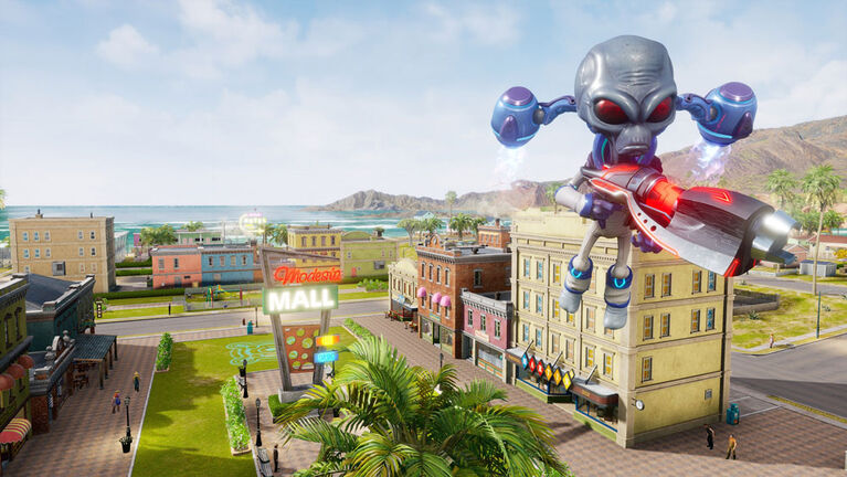 PlayStation 4 Destroy All Humans