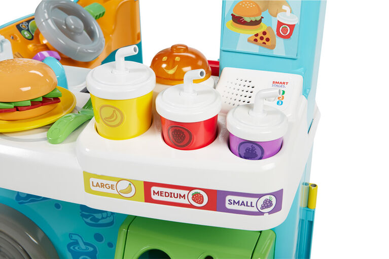 Fisher-Price Laugh & Learn Servin' Up Fun Food Truck - English Edition