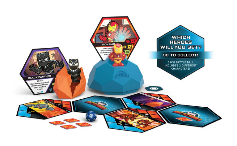 Funko Marvel Battle World - Series 1 Battle Ball Collectible Game