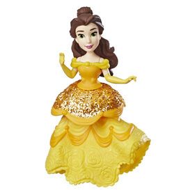 Disney Princess Belle Doll with Royal Clips Fashion