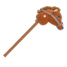 Cheval brun Giddy Up Hobby Horse de Pitter Patter Pets