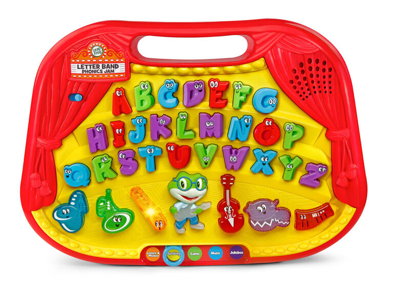 LeapFrog Letter Band Phonics Jam - Édition anglaise - Édition anglaise
