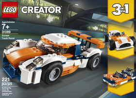 La voiture de course LEGO Creator 31089