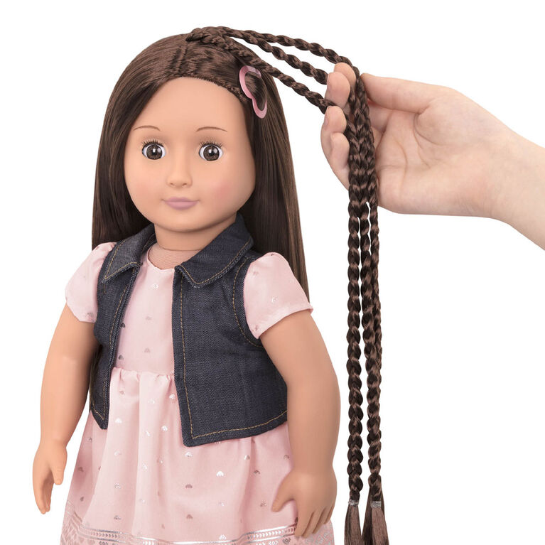 """Our Generation, Kaelyn """"From Hair To There"""", 18-inch Hair Play Doll"""