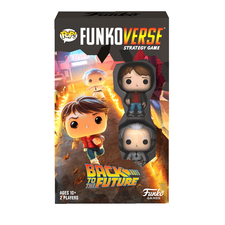 Funkoverse Back to the Future 100 - Back to the Future - Édition anglaise