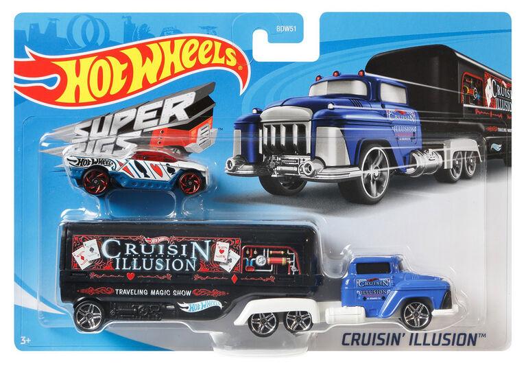 Hot Wheels Super Rigs - Cruisin Illusion