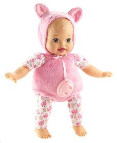 Little Mommy - Mon bébé costumé - Poupée Cochonnet.