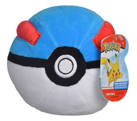 "Pokémon 4"" Pokeball Plush - Great Ball"