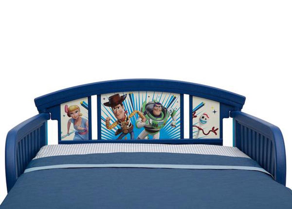 Baby Disney/Pixar Toy Story 4 Delta Children Plastic Toddler Bed