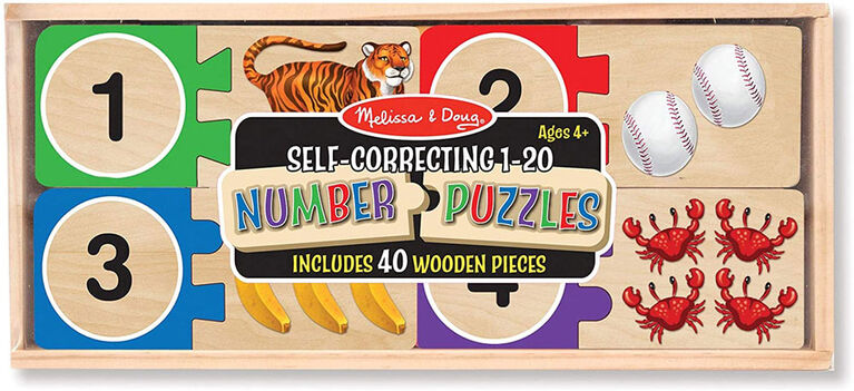 Melissa & Doug Self Correcting Number Puzzle