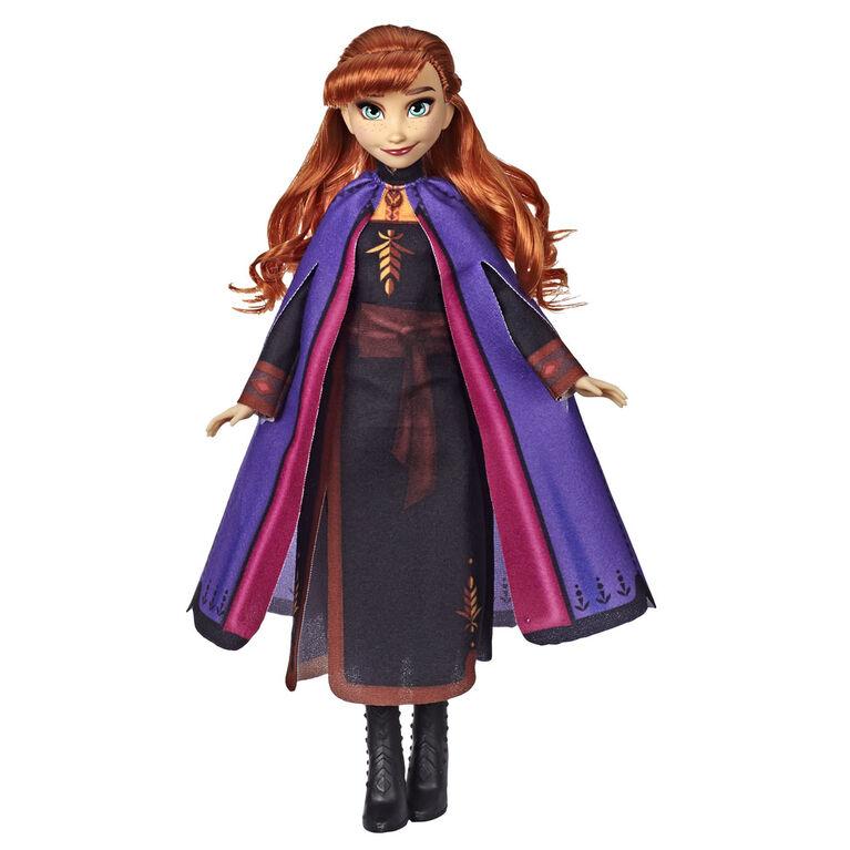 Disney La Reine des neiges, poupée mannequin Anna