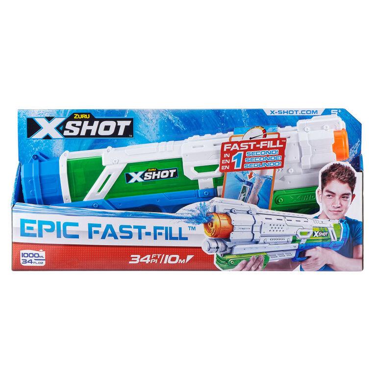 X-Shot Water Warfare Epic Fast-Fill Avec Une Fonction Remplissage Rapide
