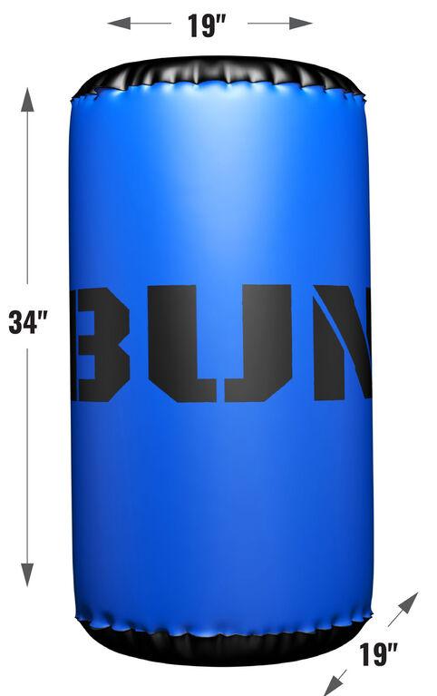 Bunkr Baril Bleu Gonfable Pour Bataille De Foudroyeurs