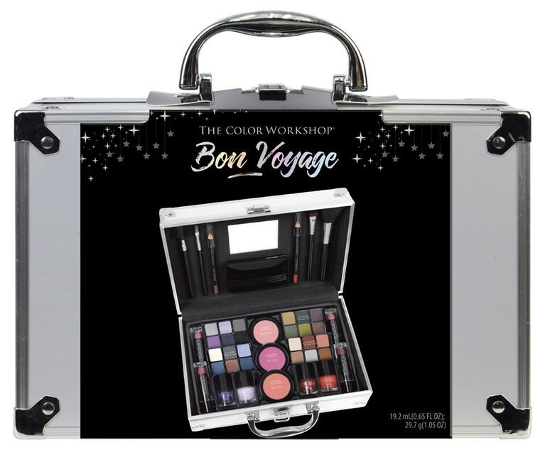 The Color Workshop Bon Voyage Train Case