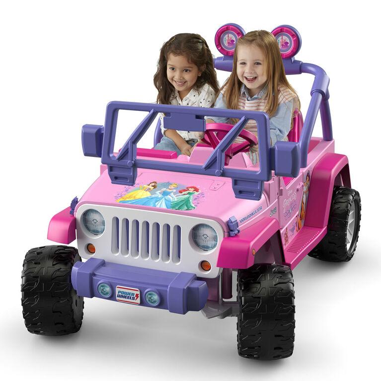 Fisher-Price Power Wheels Disney Princess Jeep Wrangler