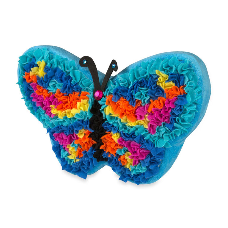 PlushCraft Butterfly Pillow