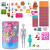 Barbie - Color Reveal - Coffret Plaisir à la soirée pyjama