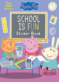 School is Fun Sticker Book (Peppa Pig) - Édition anglaise