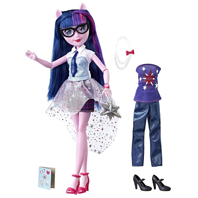 My Little Pony Equestria Girls So Many Styles Twilight Sparkle - R Exclusive