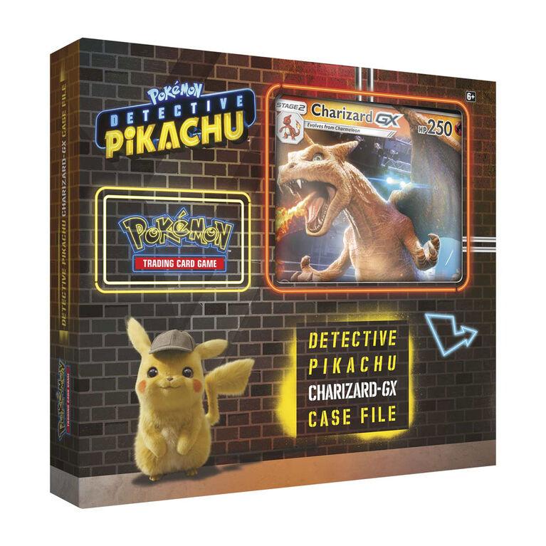 Pokemon Detective Pikachu Charizard-GX Case File