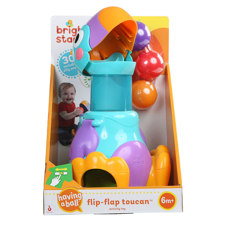 Bright Starts - Having a Ball - Flip-Flap Toucan