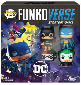 Funkoverse Strategy Game: DC 4 Pack - Édition anglaise