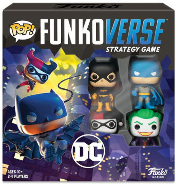 Funkoverse Strategy Game: DC 4 Pack - English Edition