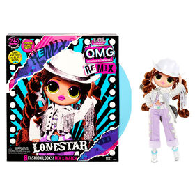 L.O.L. Surprise! O.M.G. Remix Lonestar Fashion Doll – 25 Surprises with Music