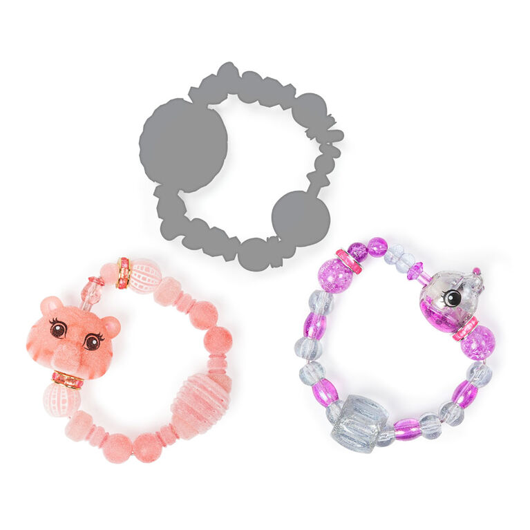 Twisty Petz, Series 2 3-Pack, Tickles Tiger, Pixiedust Puppy and Surprise Collectible Bracelet Set