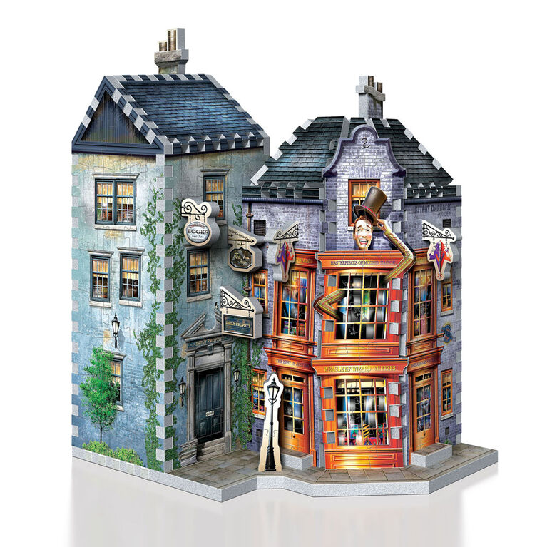 Harry Potter - WREBBIT 3D Jigsaw Puzzle - Weasley's Wizard Wheezes and Daily Prophet  - 285 Pieces