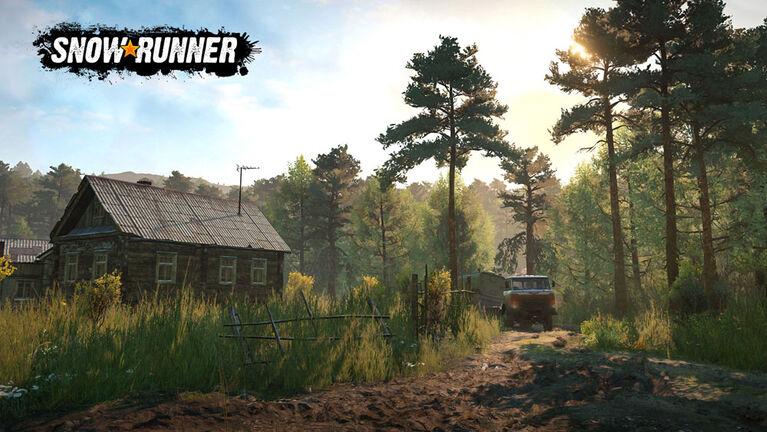 PlayStation 4 Snowrunner a Mudrunner Game