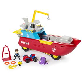 Paw Patrol Sea Patroller – Transforming Vehicle with Lights and Sounds