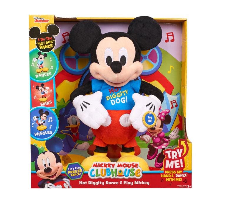 Mickey Danse Et Chante Hot Diggity