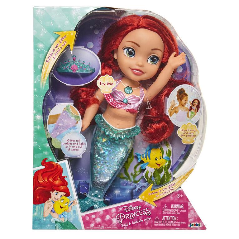 Sing & Sparkle Ariel Doll - English Edition