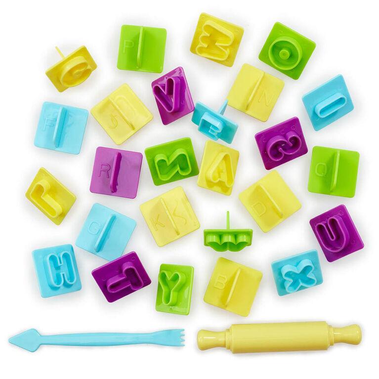 Nick Jr. Ready Steady Dough Alphabet Fun Train Accessories Set - R Exclusif