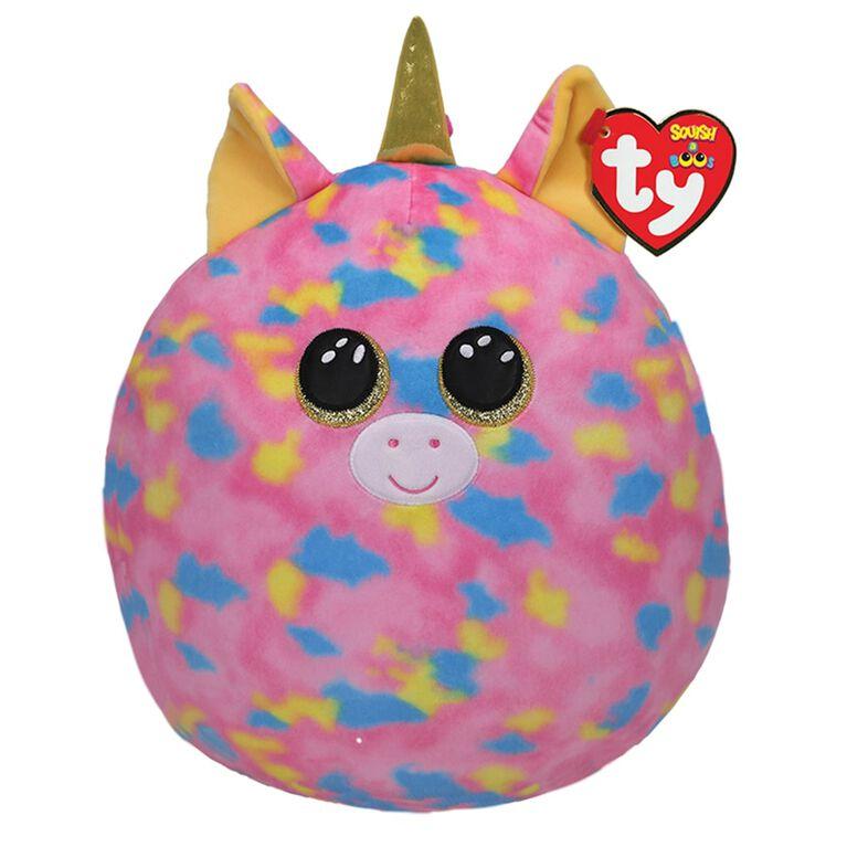 Ty Squish Fantasia Pink Unicorn 14 inch