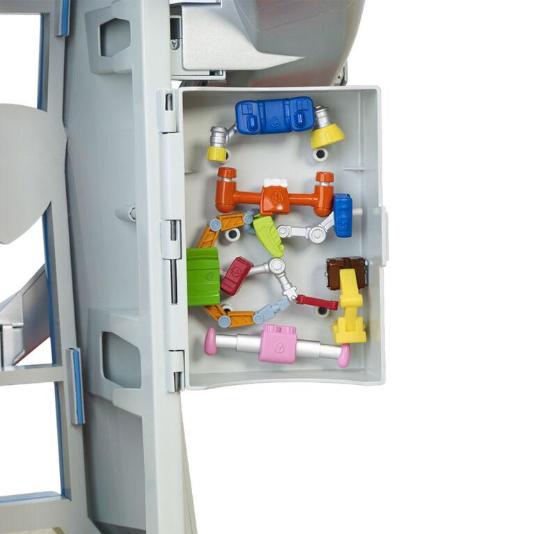Paw Patrol - My Size Lookout Tower avec véhicule exclusif, périscope pivotant et effets sonores et lumineux
