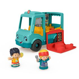 Fisher-Price Little People Serve It Up Food Truck - Bilingual Edition